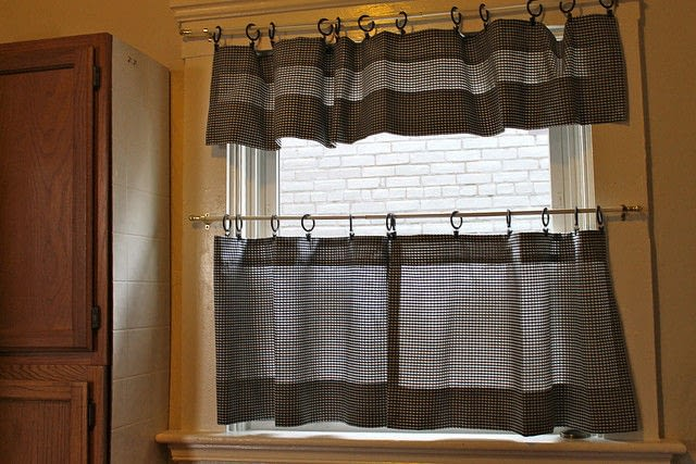 Cafe Curtains How To Make A CurtainBlinds Sewing On Cut Out Keep