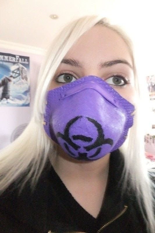 Cyber Goth Mask 183 How To Make A Mask 183 How To By Rawr Rawr X