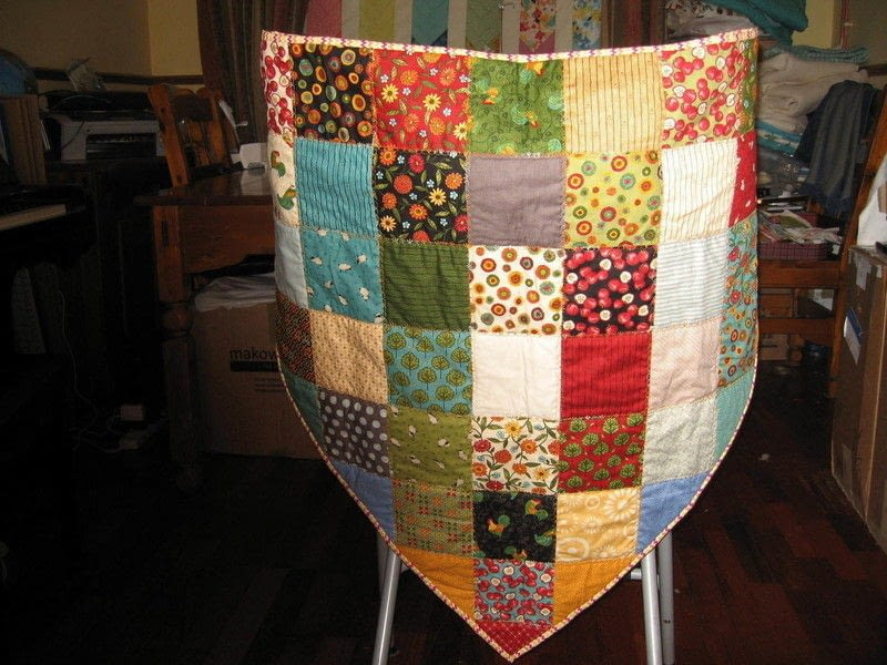 Quilted Shawl 183 How To Make A Shawl 183 Sewing And Patchwork