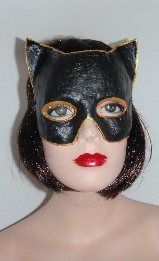 Catwoman Mask 183 A Mask 183 Papercraft And Papier M 226 Ch 233 On