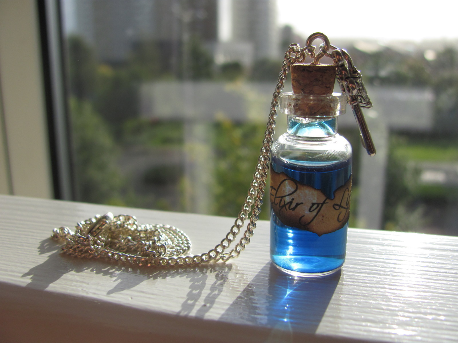 Elixir Of Life Potion Necklace How To Make A Vial