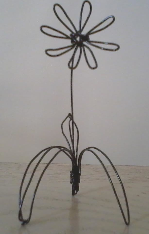Wire Flower 183 A Wire Model 183 Wirework On Cut Out Keep