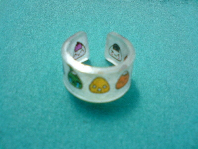 Shrinky Dink Ring How To Make A Plastic Ring Jewelry