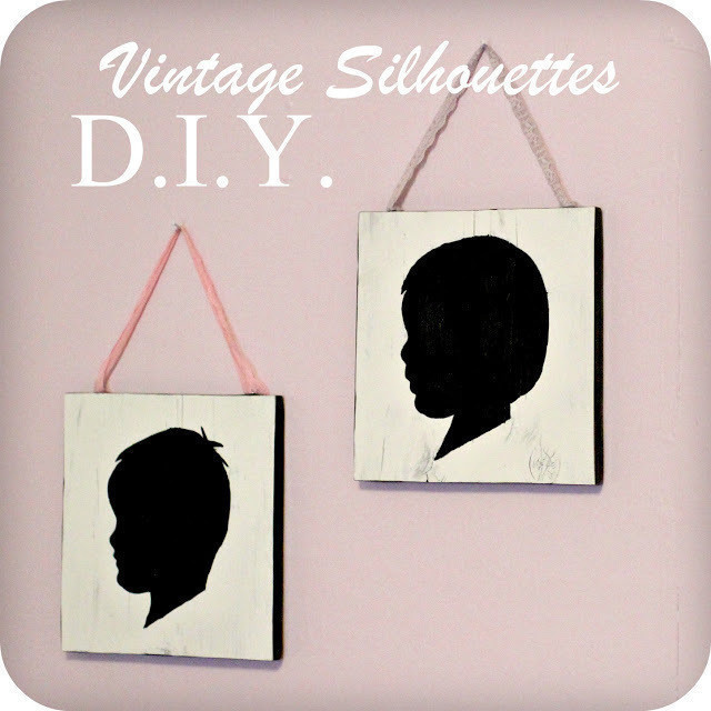 Diy Vintage Style Silhouette Wall Art How To Make