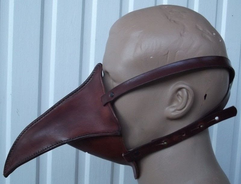 Plague Doctor Half Mask Mk Ii A Mask Other On Cut Out