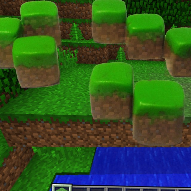Minecraft: Claying Grass Blocks. · How To Make A Clay · Other on