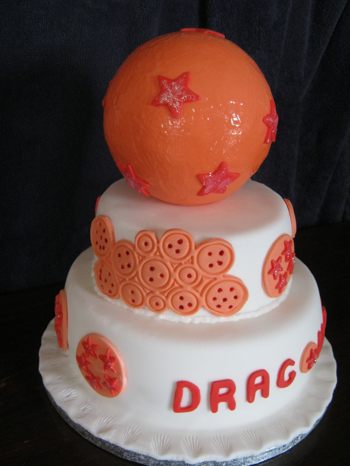 Dragon Ball Z Tiered Birthday Cake 183 A Cartoon Cake