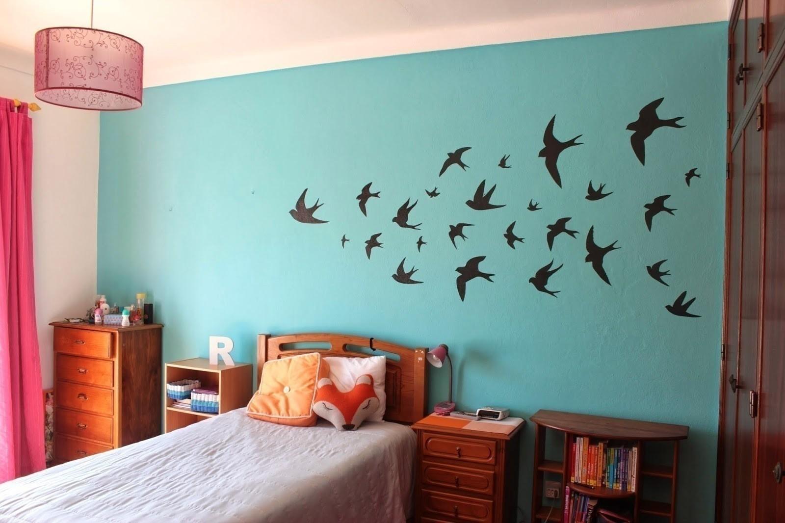 Swallows Wall Decor · How To Make Wallpaper / A Wall