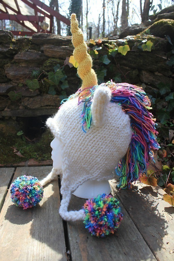 Unicorn Hat A Character Hat Yarncraft On Cut Out