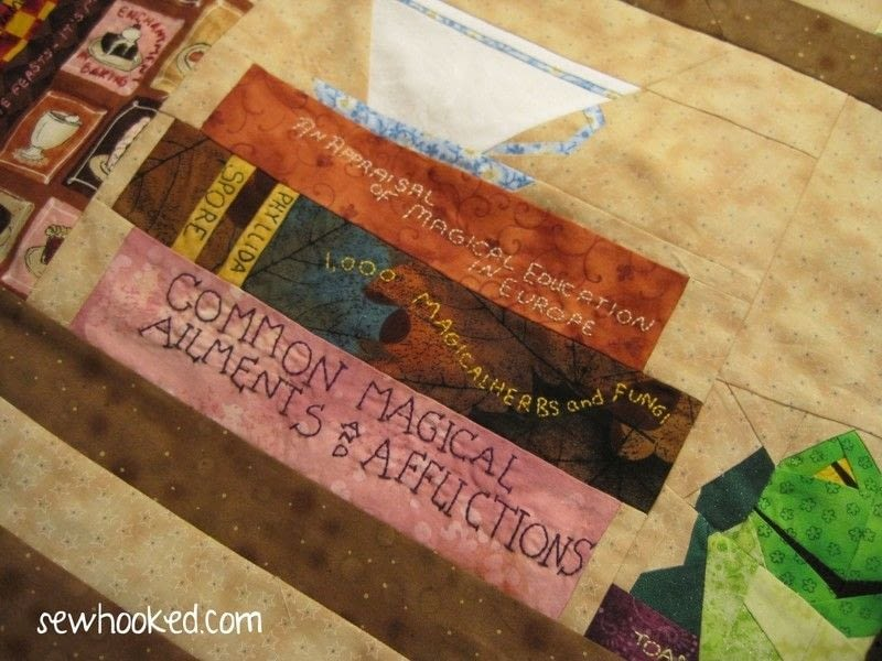 The Project Of Doom A Harry Potter Bookcase Quilt A