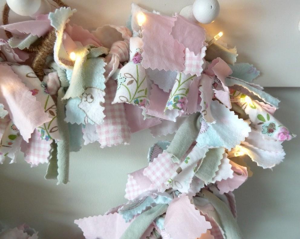 Rag Heart Wreath How To Make A Fabric Wreath Home