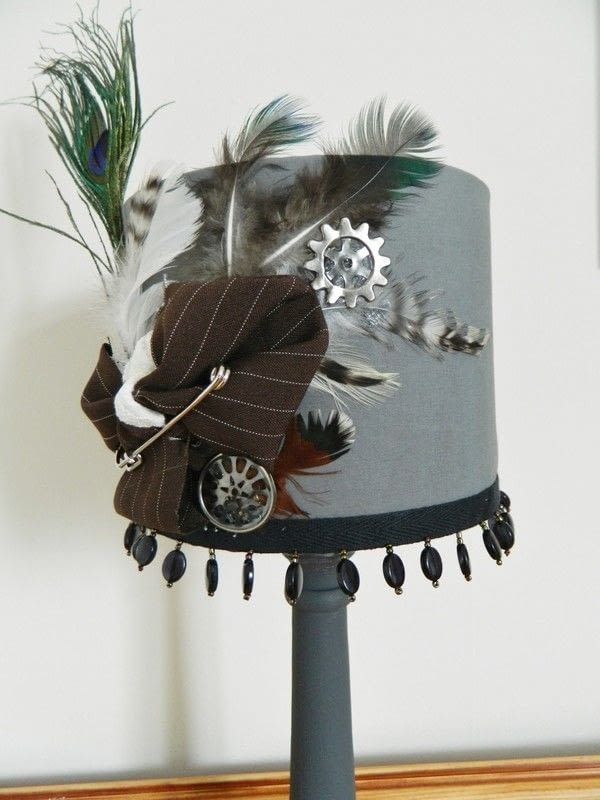 Steampunk Aviary Lamp Shade How To Make A Lamp Lampshade Home DIY On Cut Out Keep