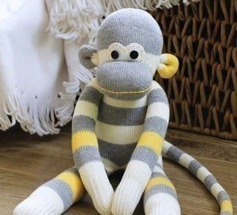 Sock Monkey 183 How To Make A Monkey Plushie 183 Sewing On Cut