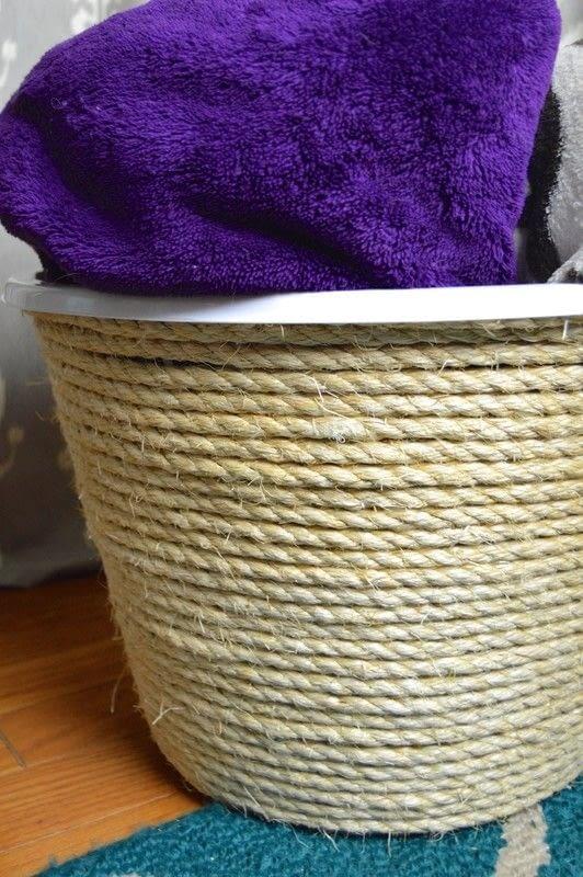 Sisal Rope Storage Basket 183 How To Make A Rope Basket