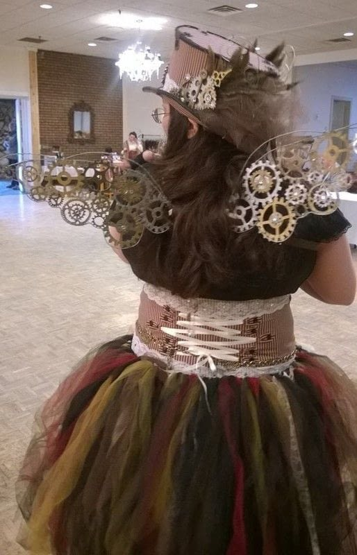 Steampunk Fairy An Chracter Costume Other On Cut Out