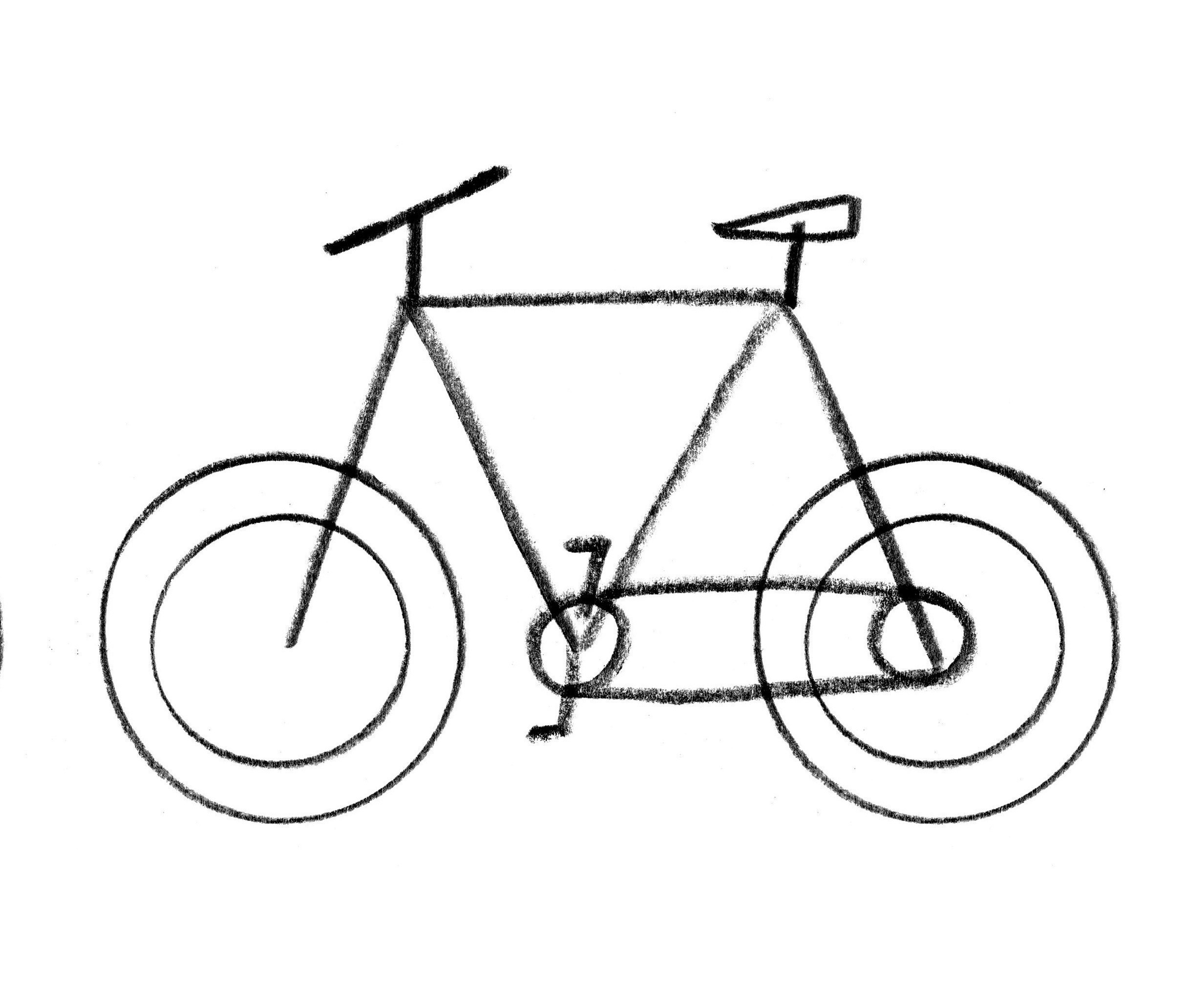 How To Draw A Bicycle Extract From Let S Make Some Great