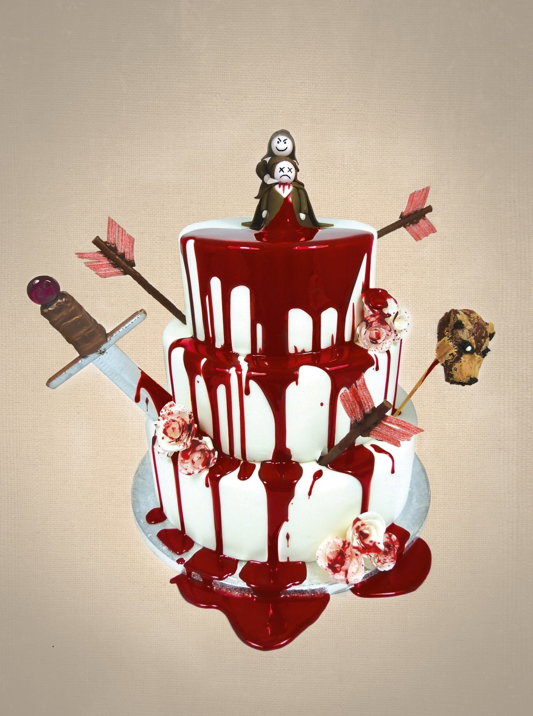 Red Velvet Wedding Cake 183 Extract From Game Of Scones By