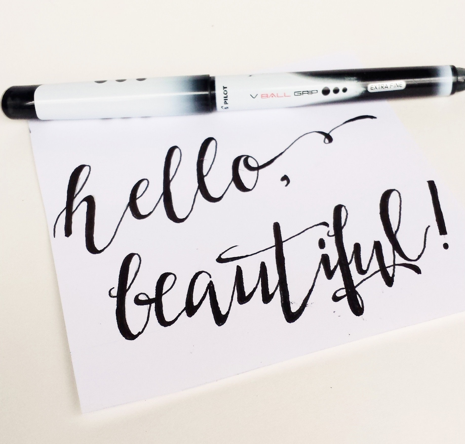 How To Create Fake Calligraphy How To Draw A Piece Of