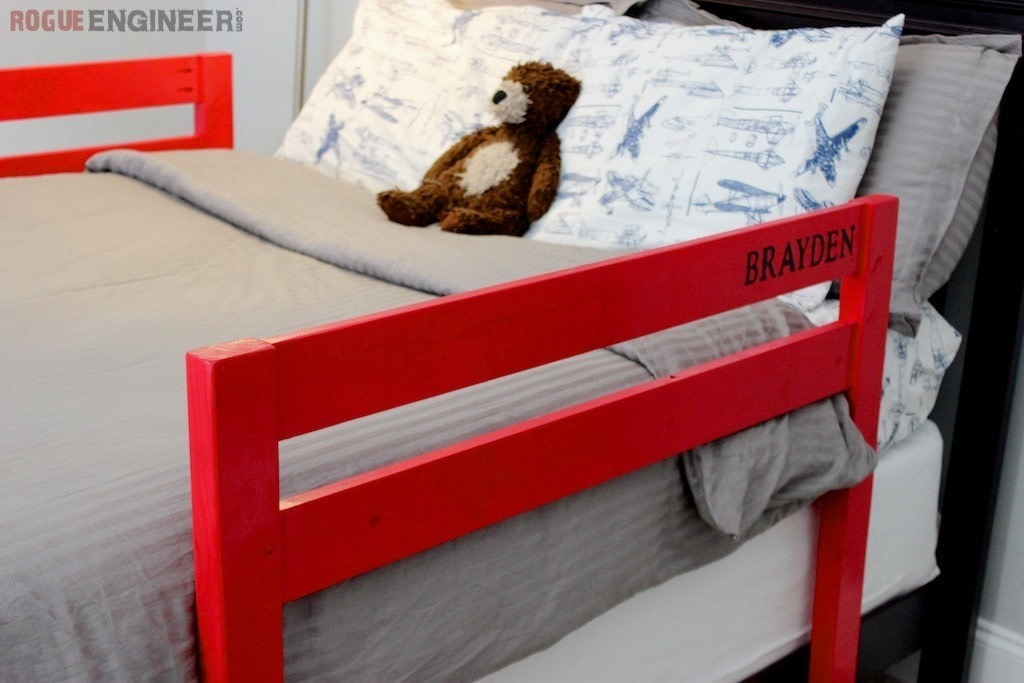 Toddler Bed Rails 183 How To Make A Bed 183 Home Diy On Cut