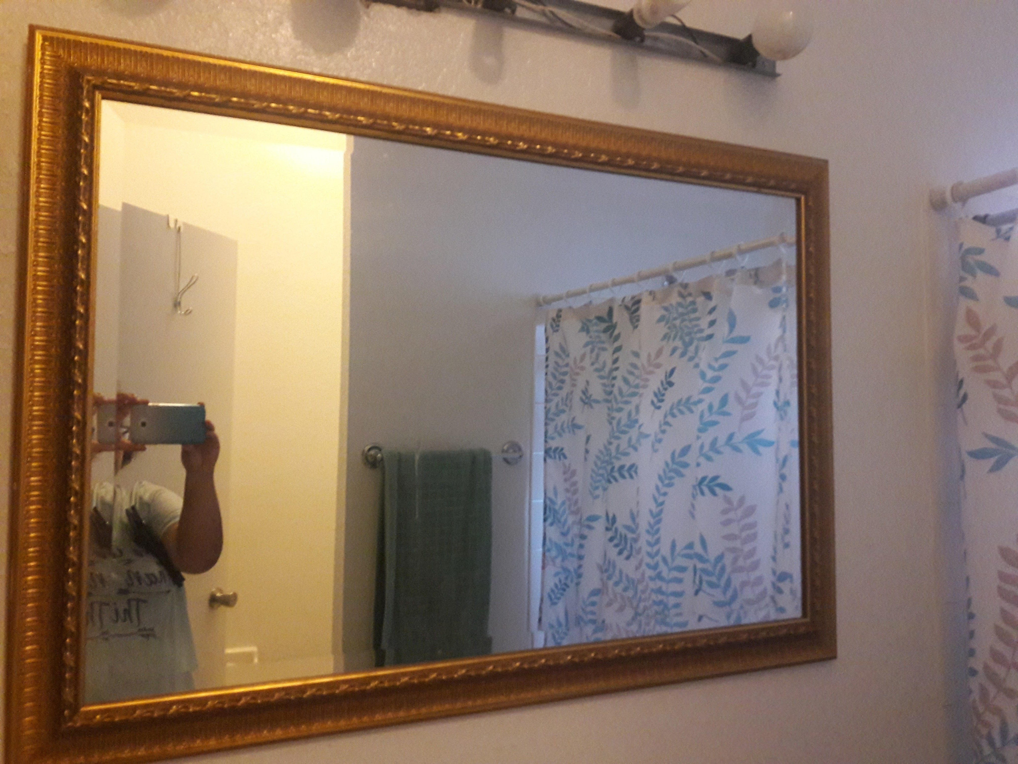 Mirror Make Over A Wall Mirror Home Diy On Cut Out Keep Creation By Gypsie Jay