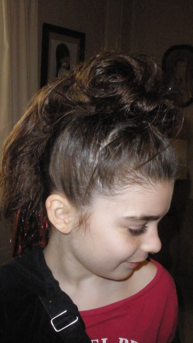 crazy hair day · how to style an updo hairstyle · hair