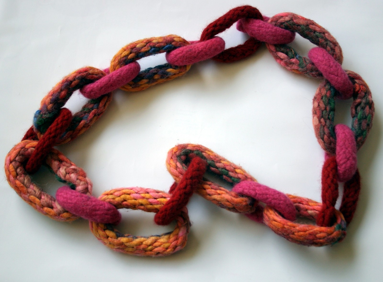 Knitted Chain Necklace 183 How To Knit Or Crochet A Knit Or