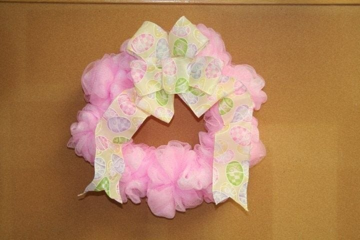 Easter Puffy Wreath A Wreath Sewing On Cut Out Keep