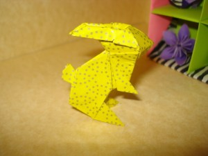 Origami Bunny =D Yay! · How To Fold An Origami Rabbit · Origami on Cut Out  Keep