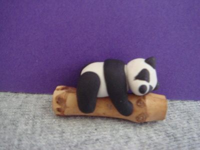 Cute Panda · A Clay Panda · Molding on Cut Out + Keep