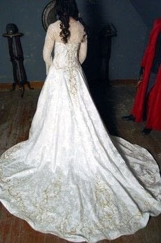 Quot Fake Quot Wedding Dress 183 How To Make A Gown 183 Embellishing And Dressmaking On Cut Out Keep
