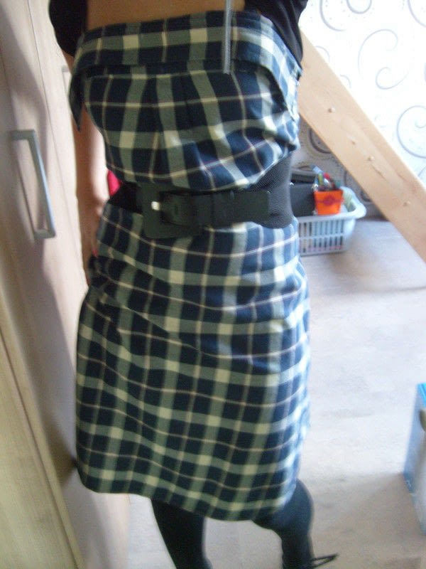 Dress Made From Mans Shirt How To Recycle A Shirt Into