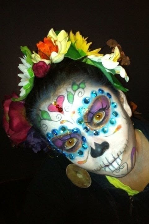 Sugar Skull Makeup Tutorial How To Create A Face Painting MakeUp Techniques And MakeUp