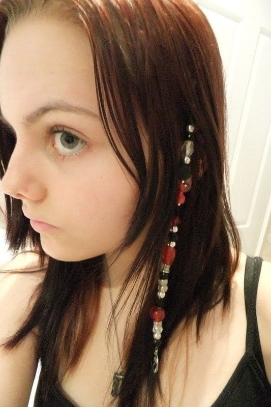 Pirate Hair Beads A Beaded Hair Clip Jewelry Making On
