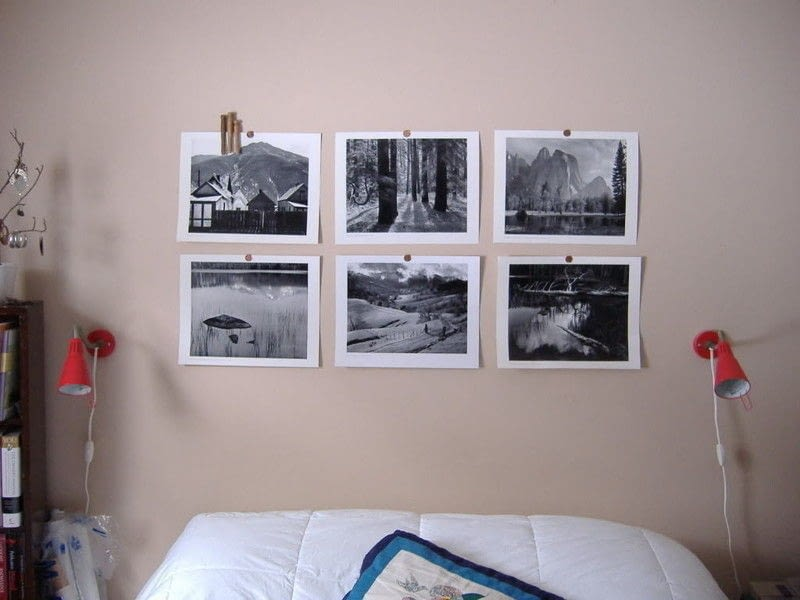 Cheap Wall Art · A Hanging · Decorating On Cut Out + Keep
