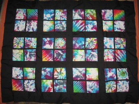 Tie Dye Quilt 183 A Patchwork Quilt 183 Dyeing And Patchwork