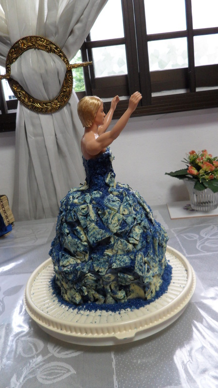 Drag Queen Birthday Cake A Doll Cake Construction And