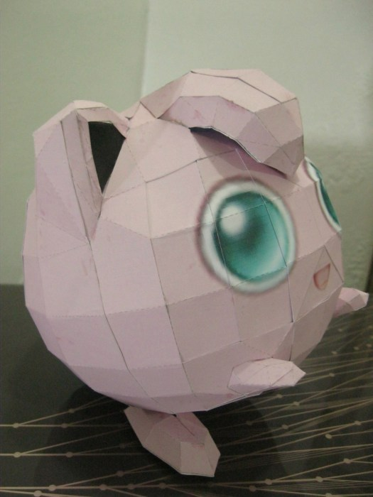 Pokemon Origami Jigglypuff Tutorial Origami Handmade