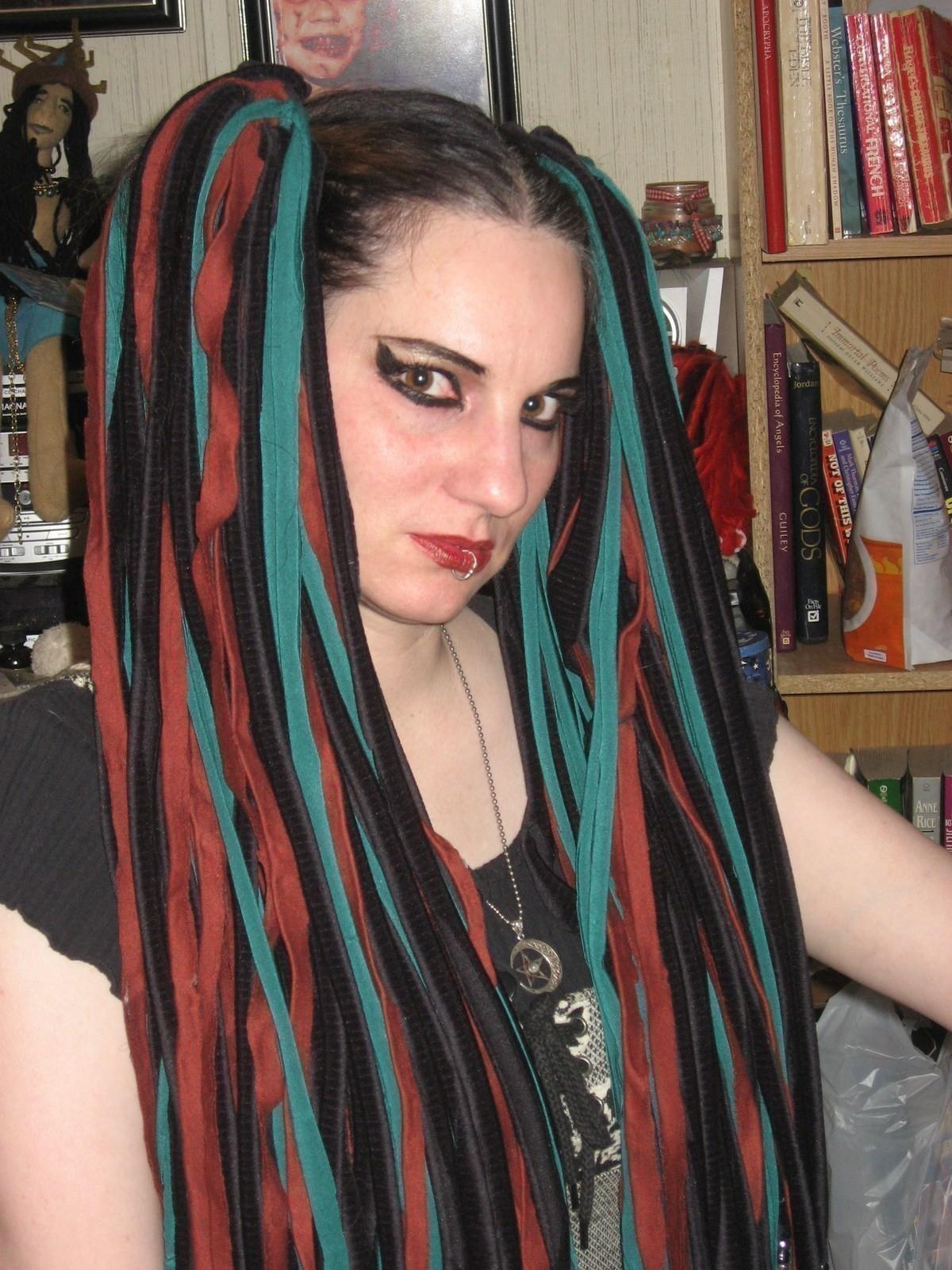 Hair Weaves A Dreadlock Fall No Sew On Cut Out Keep