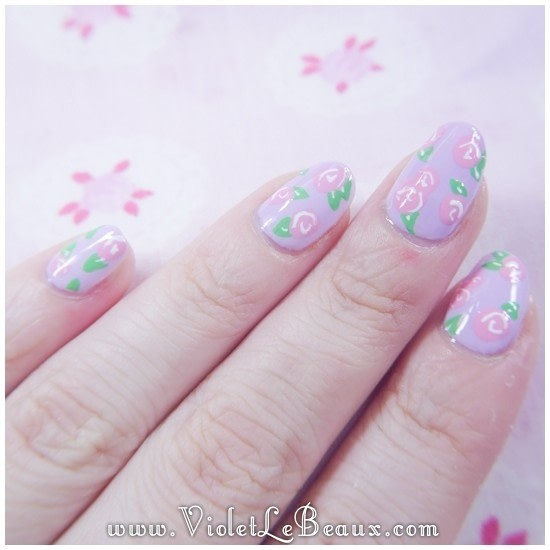 How To Do Easy Rose Nail Art Best Ideas Roses Step By 49