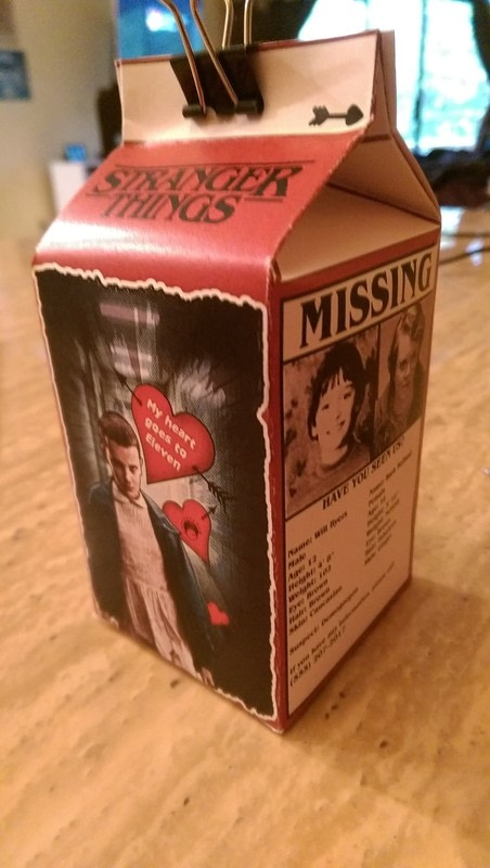 Stranger Things Valentine Boxes How To Make A Box