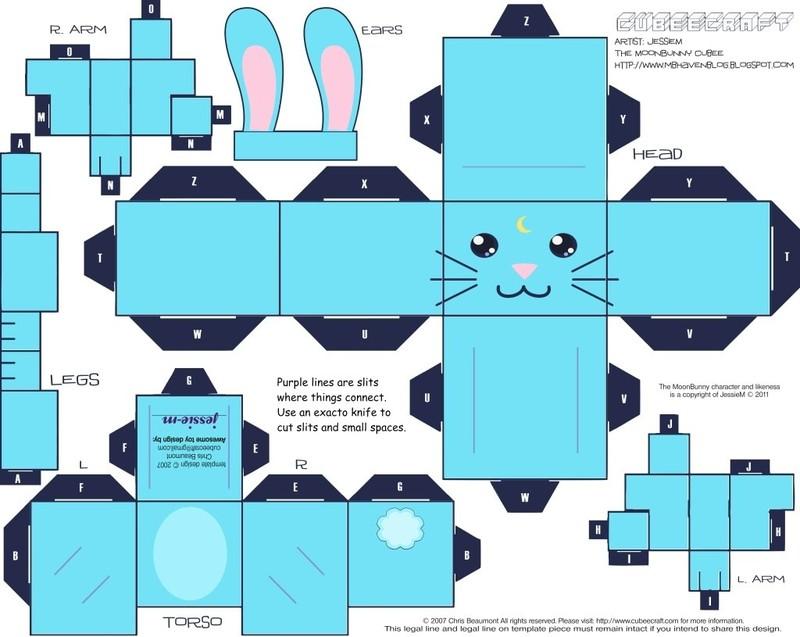 paper cut out templates