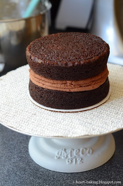 Chocolate Filling Quick Cake Mousse