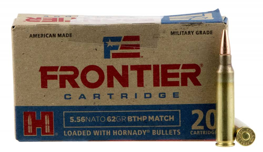 Frontier Cartridge Fr300 Rifle 5 56 Nato 62 Gr Boat Tail