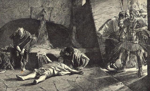 Deposizione e morte dell?imperatore Nerone