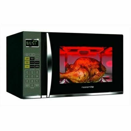 ft 1100 watt countertop microwave oven with grill in stainless emerson 1 2 cu microwaves home garden worldenergy ae