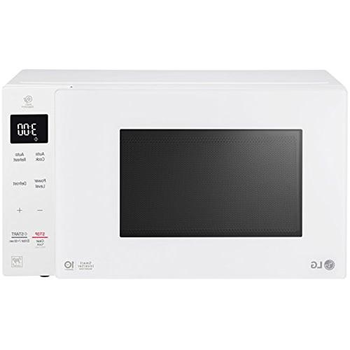 countertop microwave in smooth white lg neochef 1 5 cu ft countertop microwave ovens