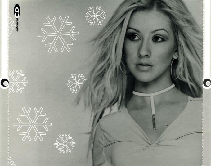 christina aguilera my kind of christmas christmaswalls co