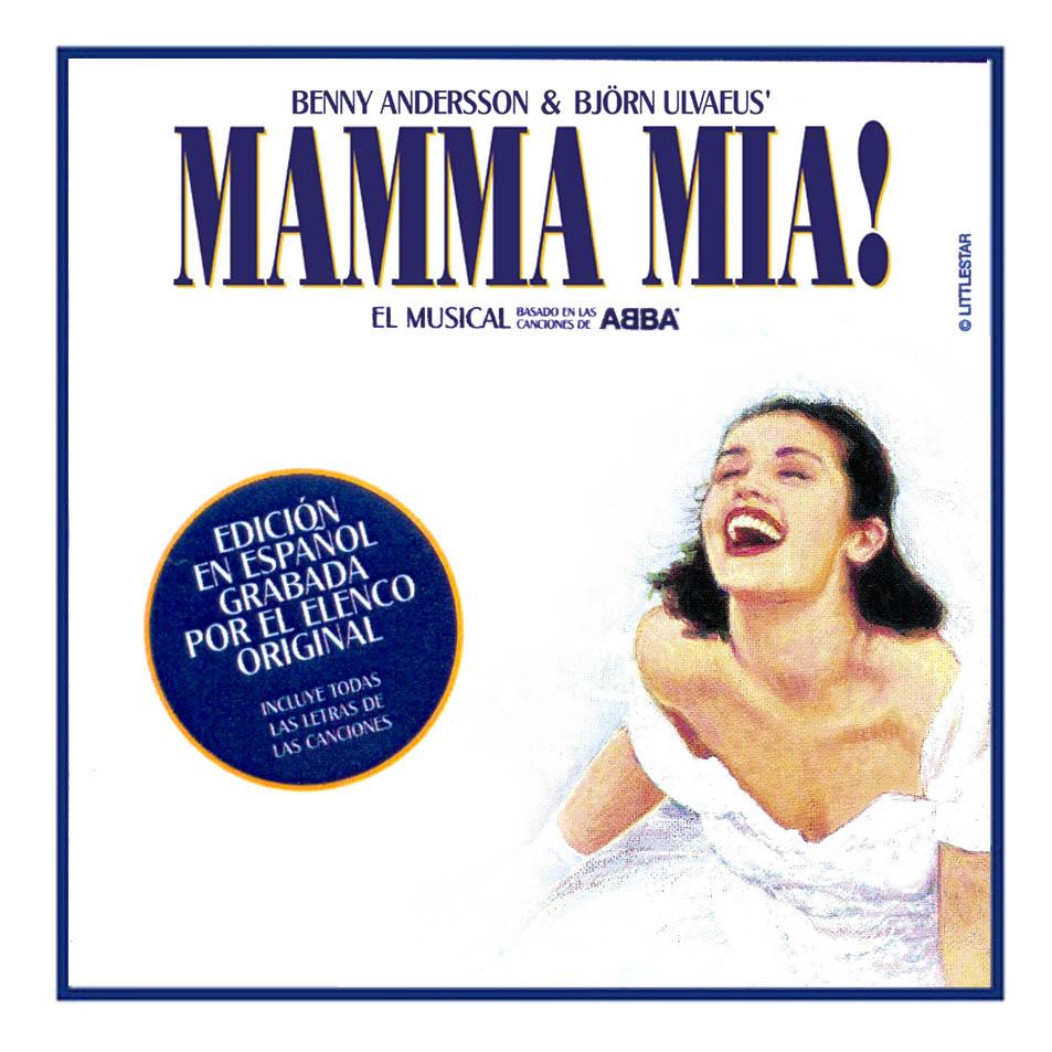 Carátula Frontal de Mamma Mia! (Version En Español)