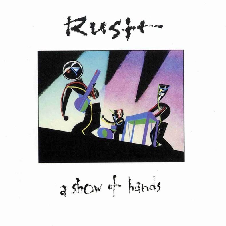 Carátula Frontal de Rush - A Show Of Hands