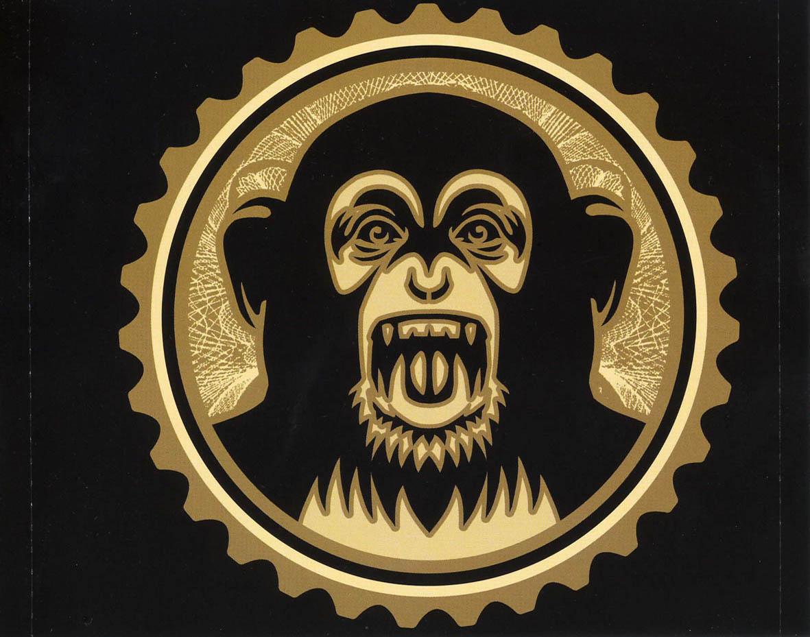 Cartula Interior Trasera De The Black Eyed Peas Monkey